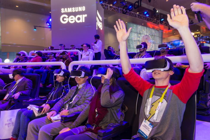 Samsung- VR roller coaster