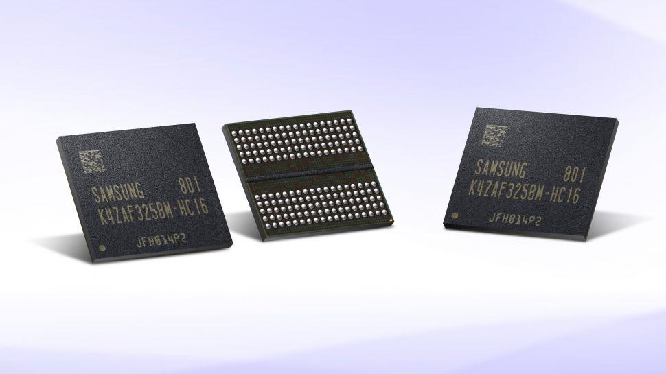 سامسونج تبدأ في الانتاج المكثف لذاكرة GDDR6 للجيل القادم من بطاقات الرسوميات