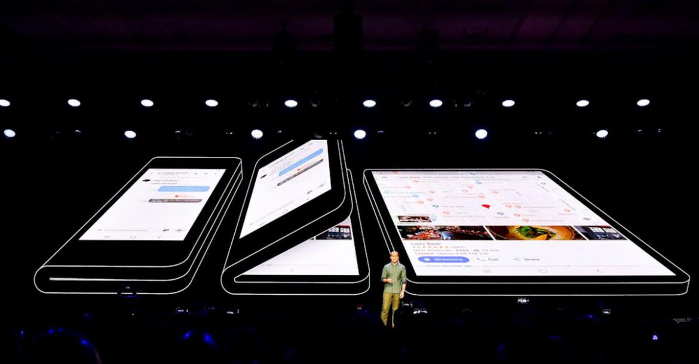 سامسونج تخطط لإطلاق هاتفها القابل للطيGalaxy F مع Bixby 3