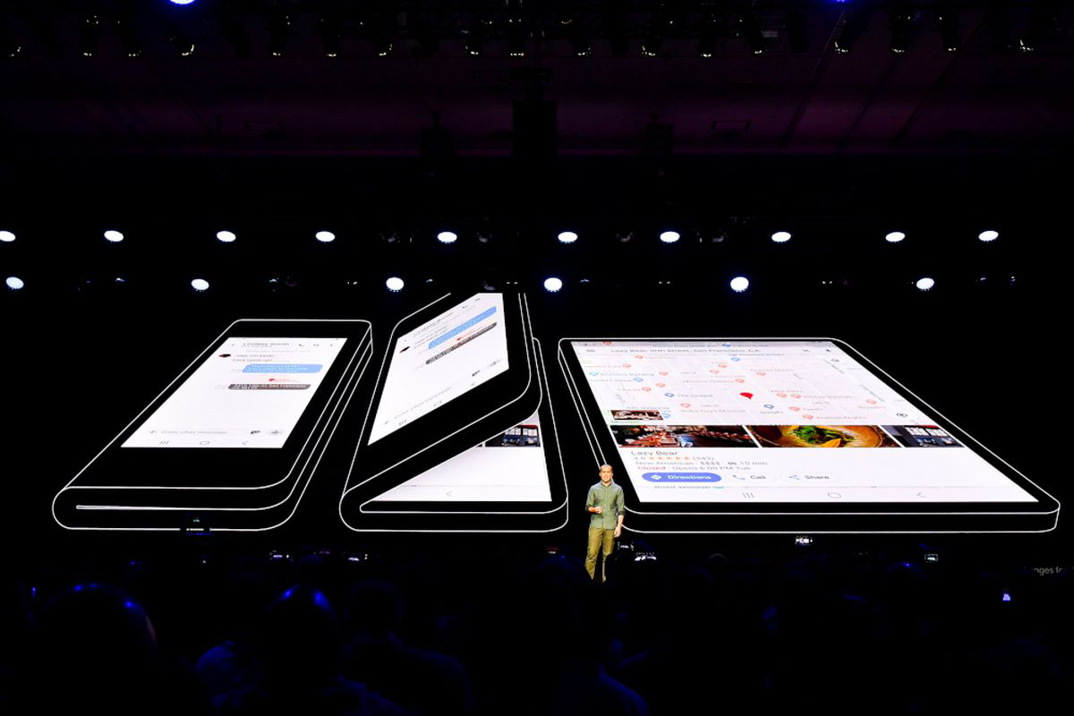 Samsung-foldable Galaxy F-Bixby 3.0