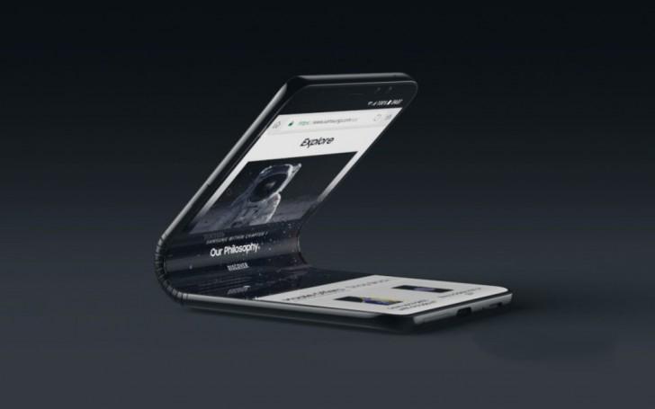 Samsung- foldable- Galaxy F