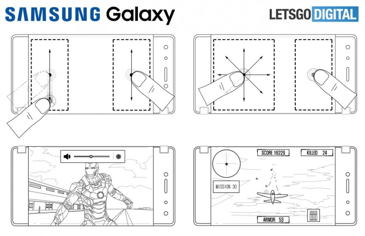 Samsung patents foldable dual screen phone