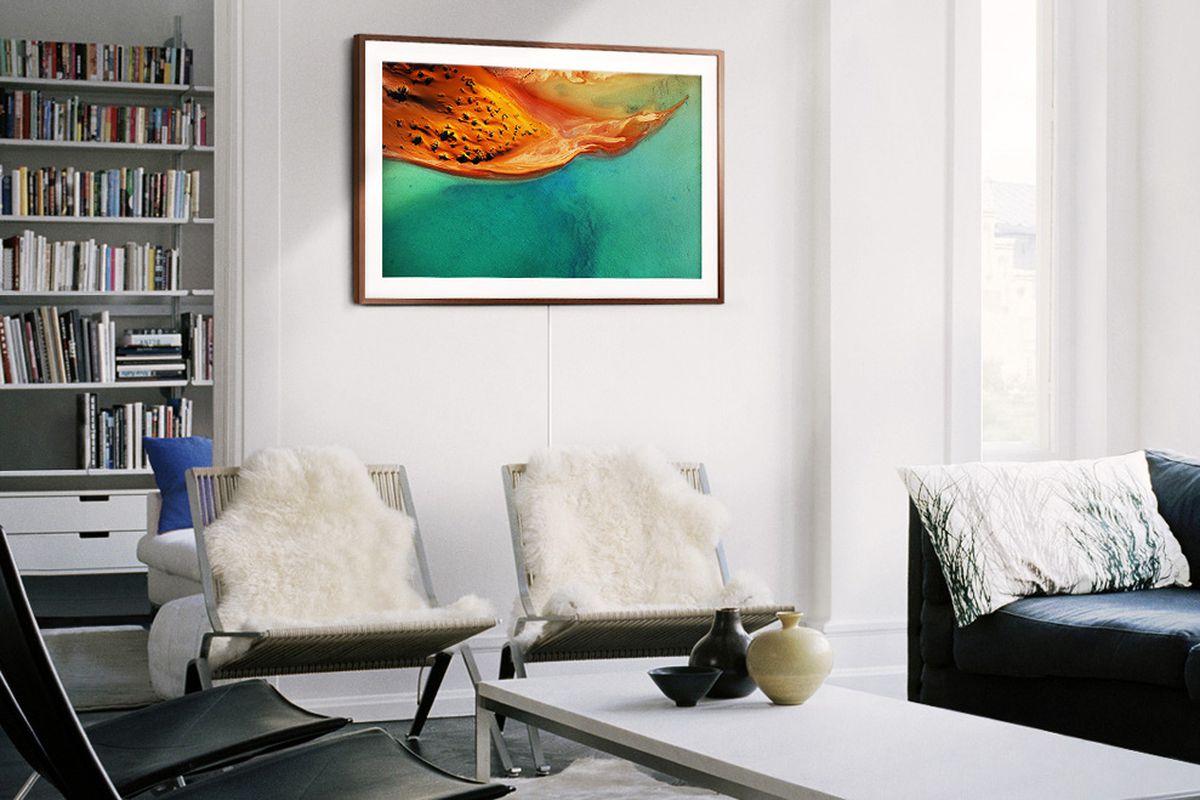 Samsung- stylish The Frame -4K TVs