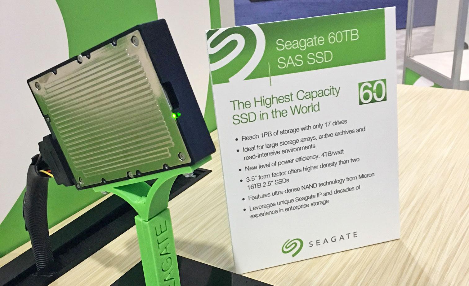 Seagate- 60TB SSD