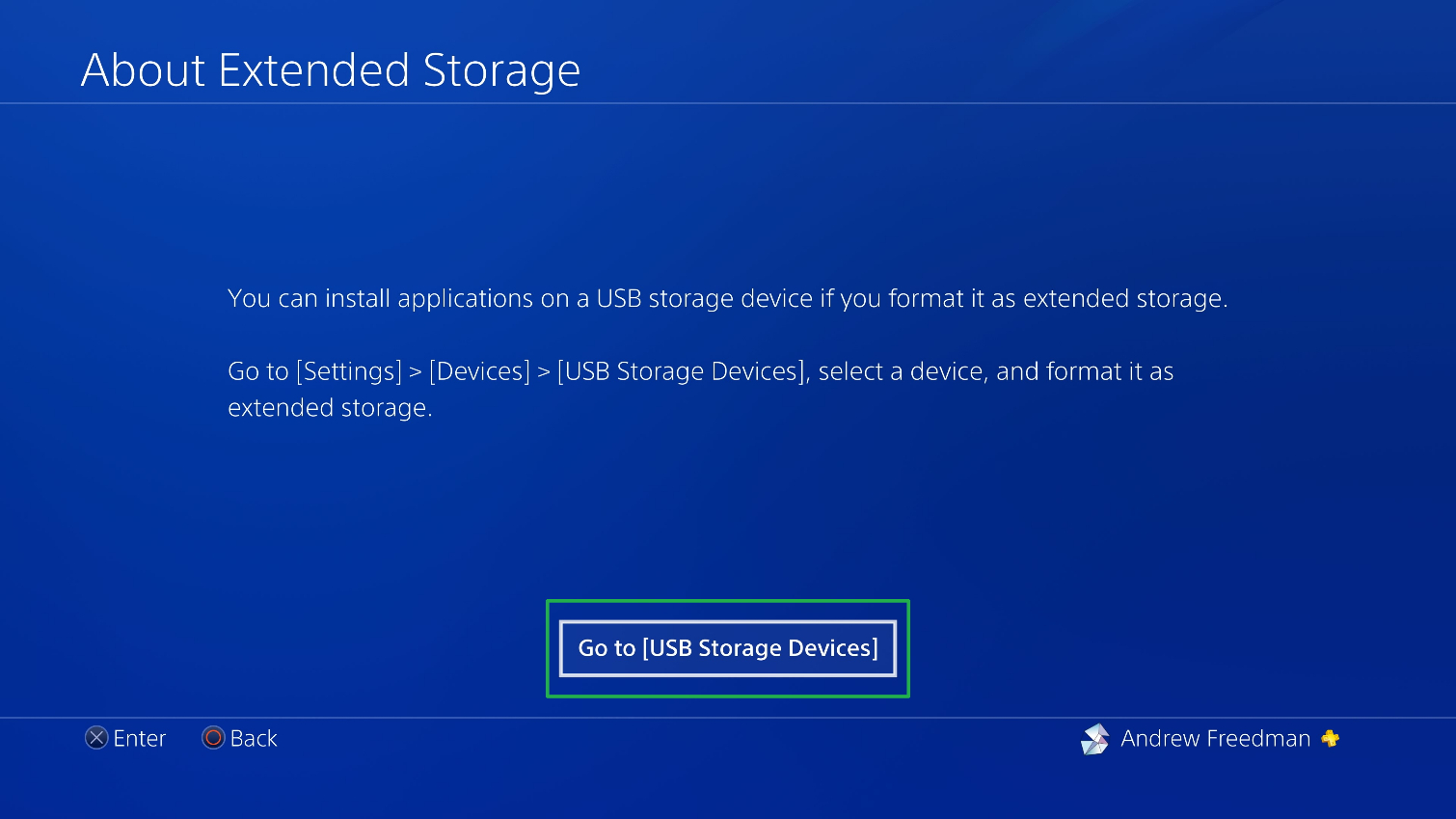 Set Up External Storage 3