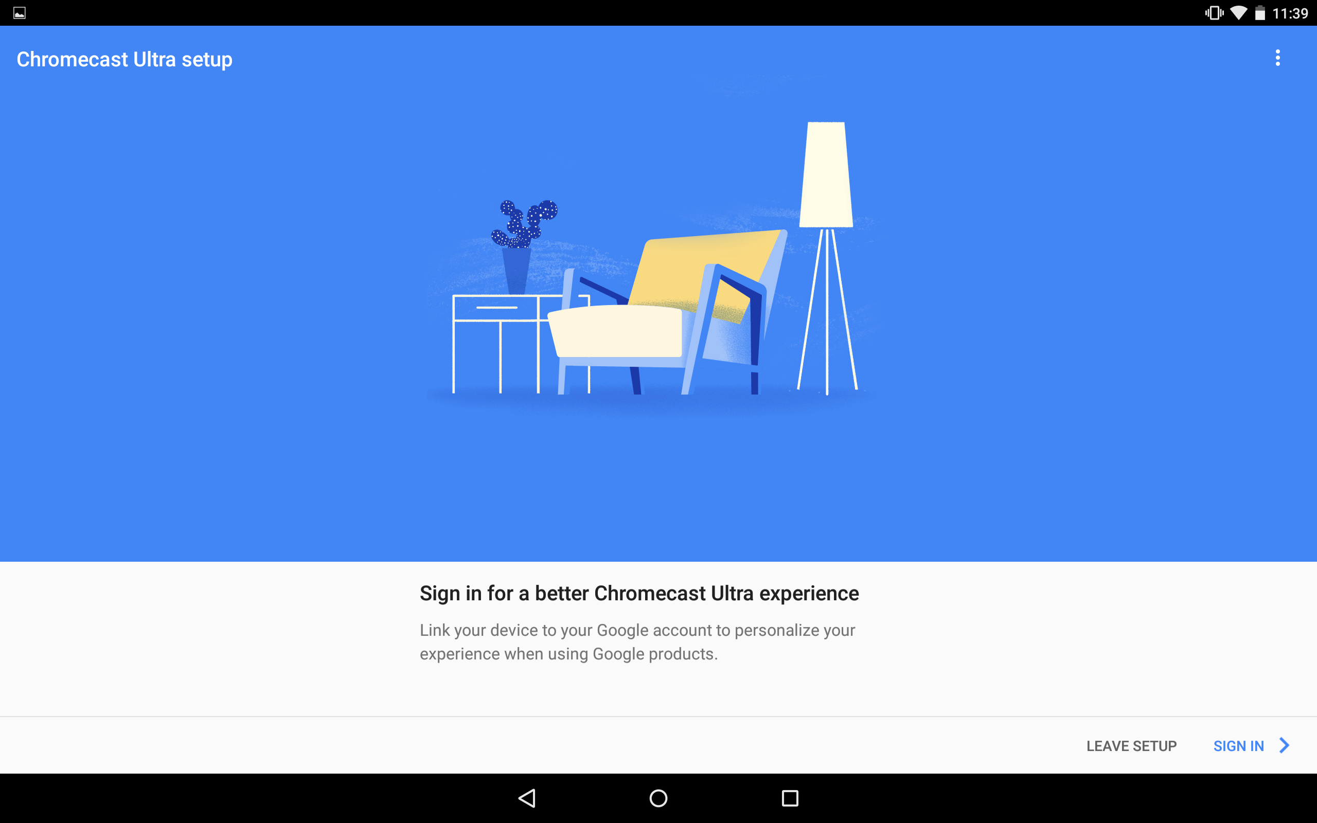 Sign into your Google Account
