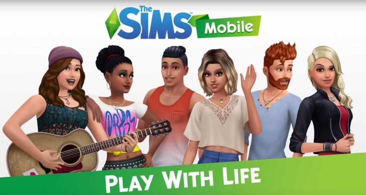 Sims mobile game
