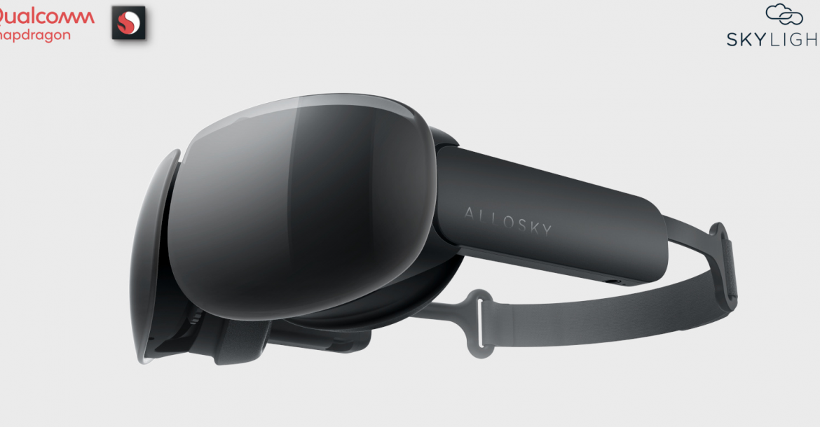SkyLights-Allosky -Cinematic VR headset