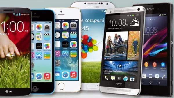 Smartphone-Screen resolutions