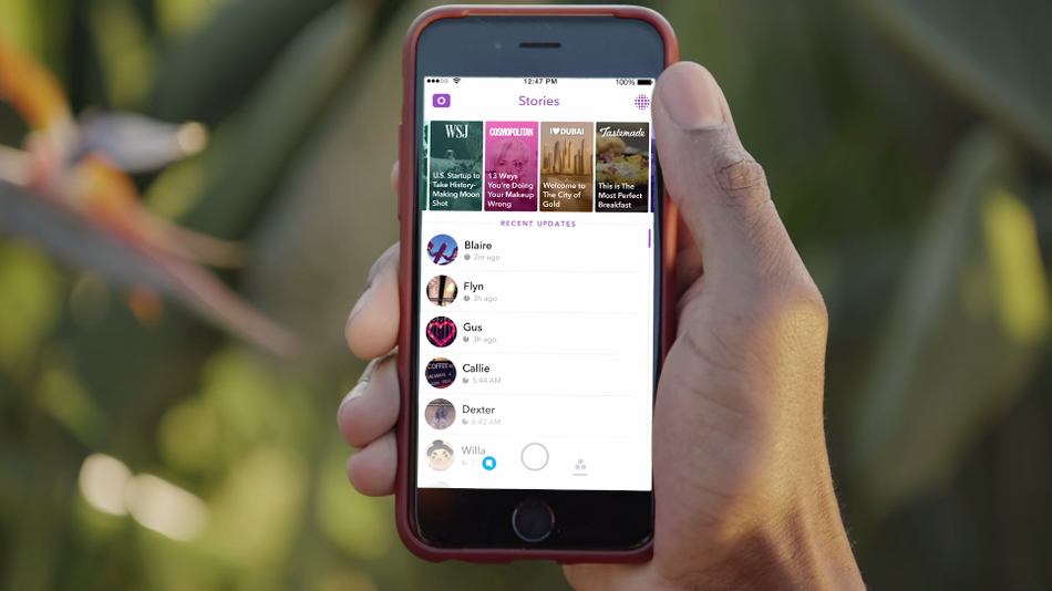 Snapchat -redesigns Discover