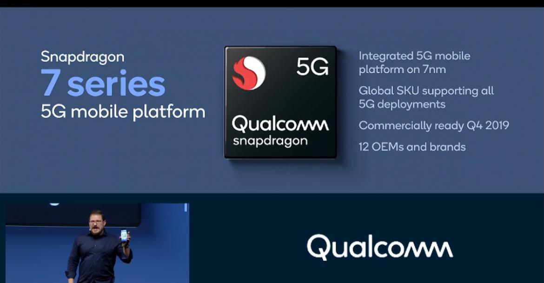 كوالكوم تؤكد على دعم 12 إصدار جديد بسلسلة معالجات Snapdragon 700 5G