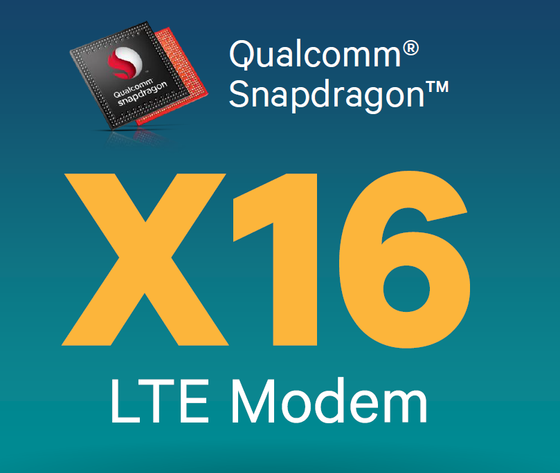 Snapdragon -X16 modem