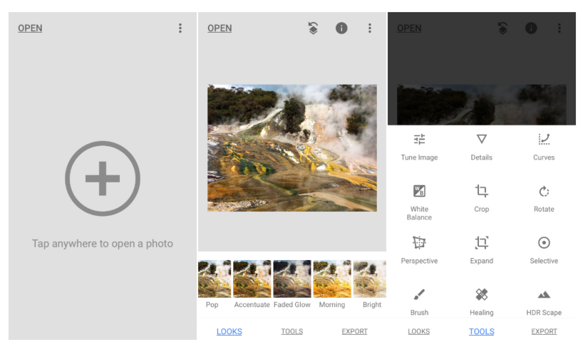 Snapseed adds new photo filters