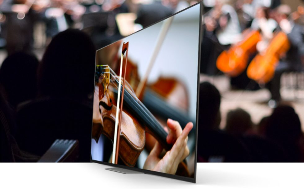 Sony A8F 4K HDR OLED TV