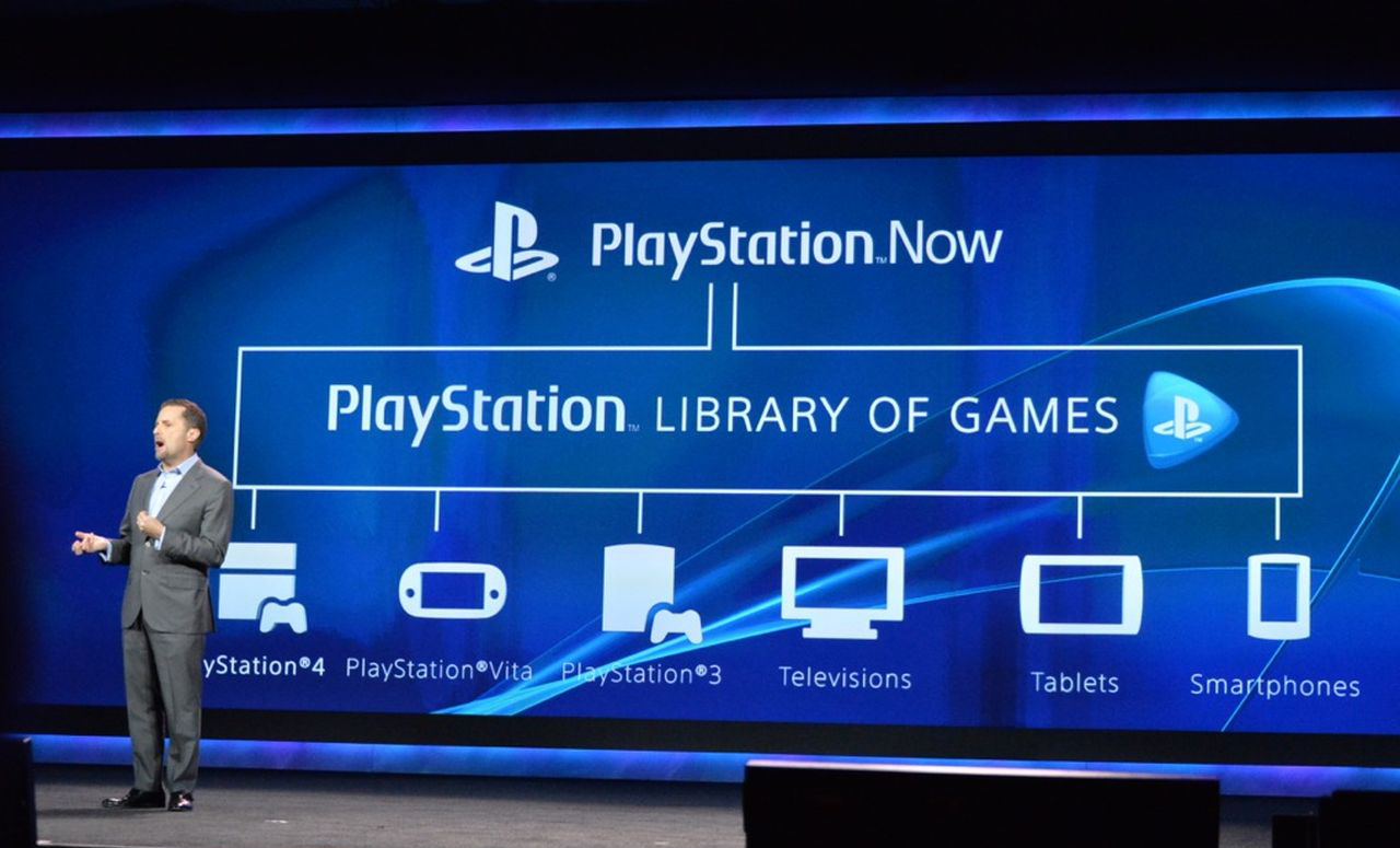 Sony PlayStation- Now cloud