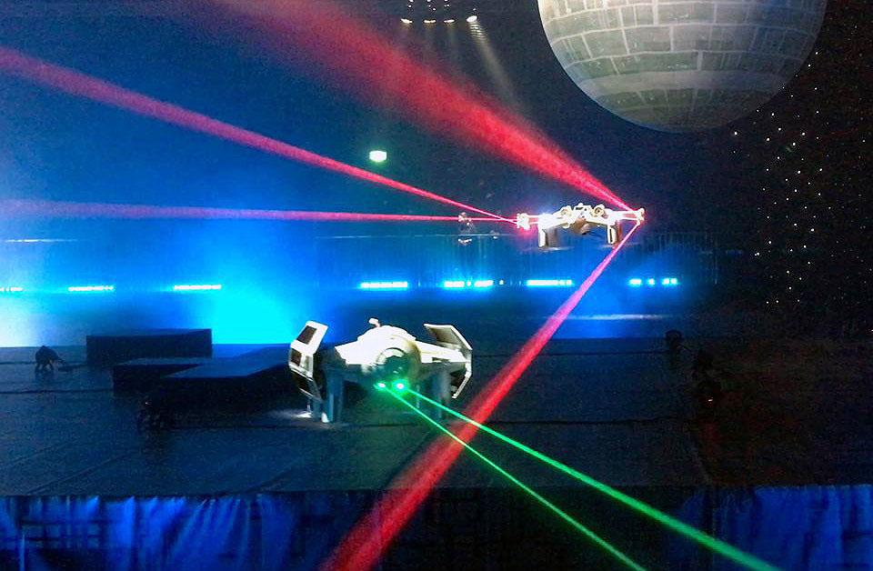 Star Wars- drones