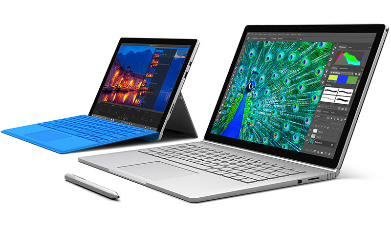 Surface Pro 4 -Surface Book