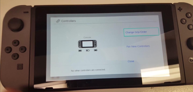 Switch system menu-3