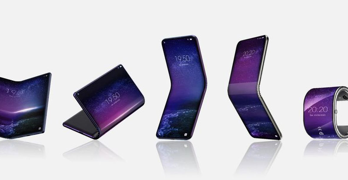 TCL- first foldable phone