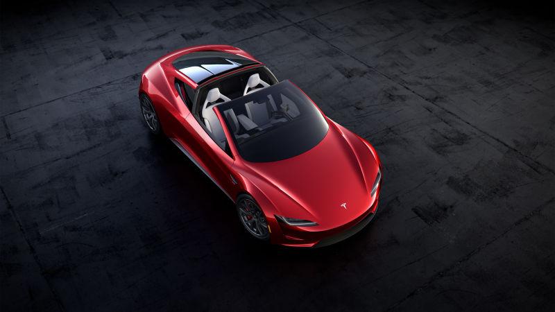 Tesla Roadster top