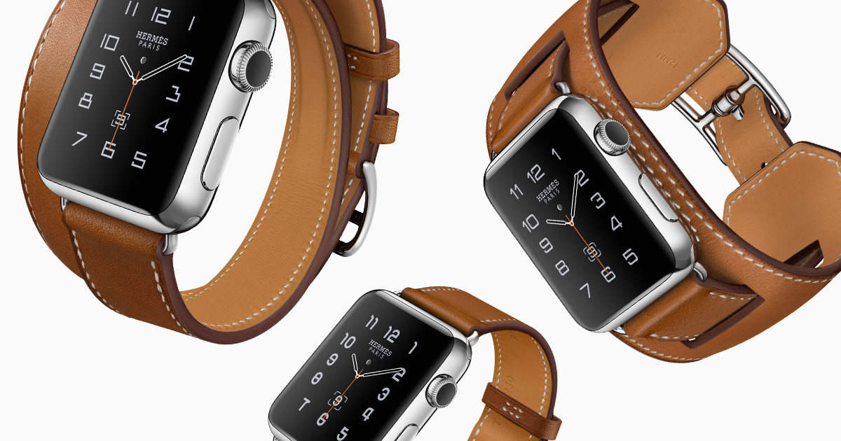 The Hermès- Apple Watch