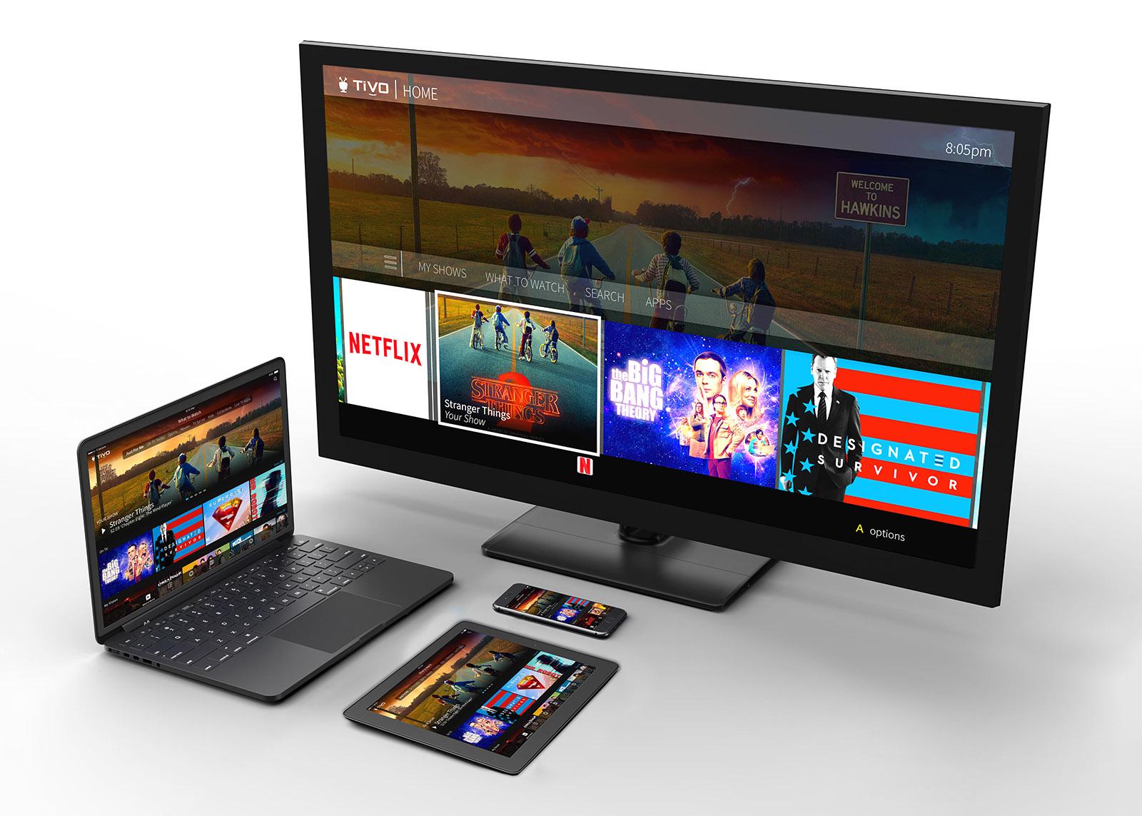 Tivo's new TV platform