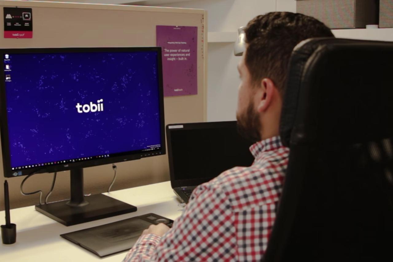 Tobii- eye-tracking system