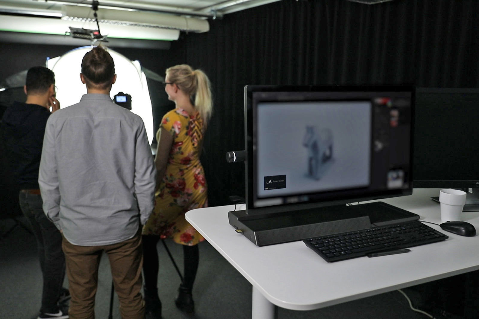 Tobii uses eye tracking to keep people from peeking at your screen