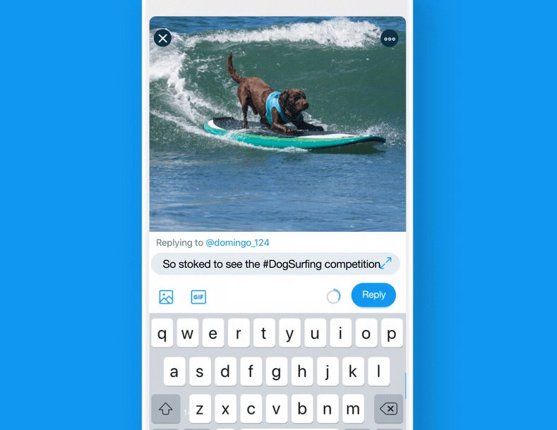Twitterيعالج مشكلة الرد على الرسائل أثناء مشاهدة الفيديو