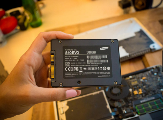 Upgrade your MacBook to an-SSD 10