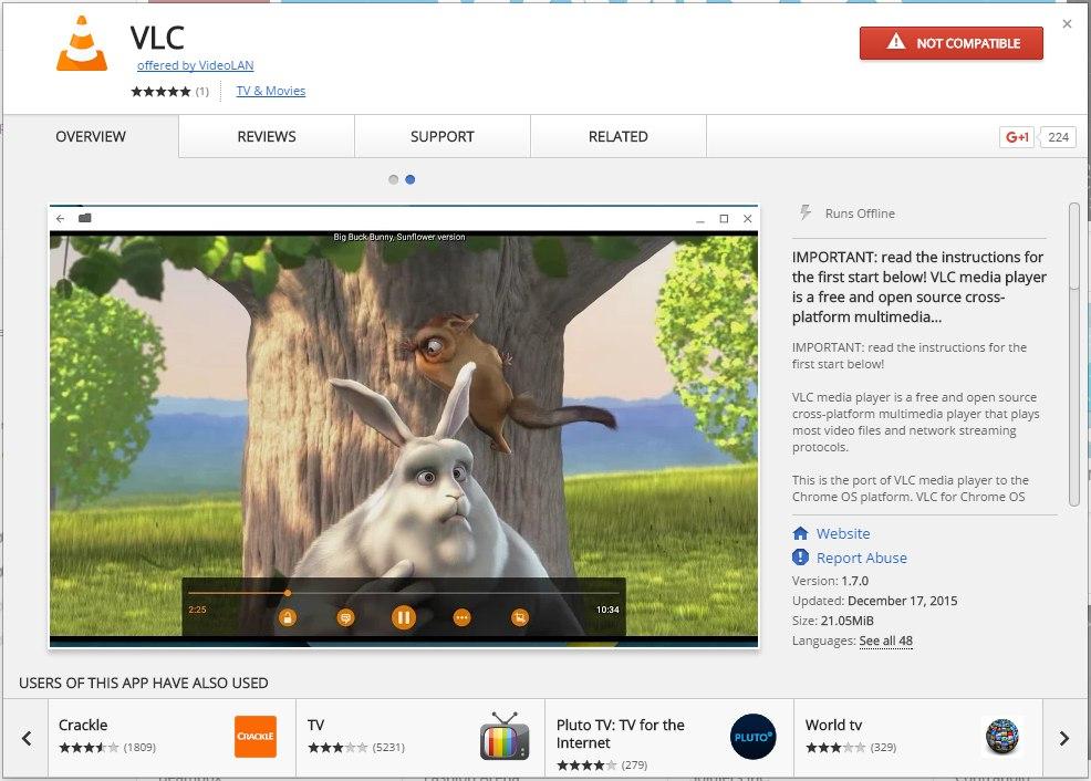 VLC-Media-Player- Chrome OS
