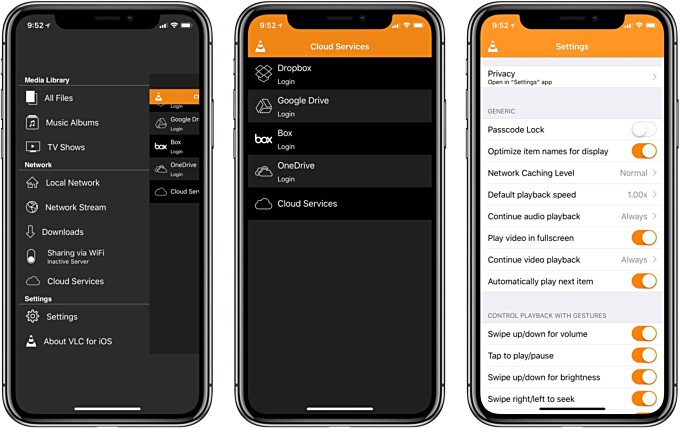 VLC for iOS brings iPhone X compatibility