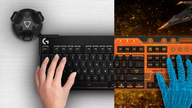 VR keyboard kit