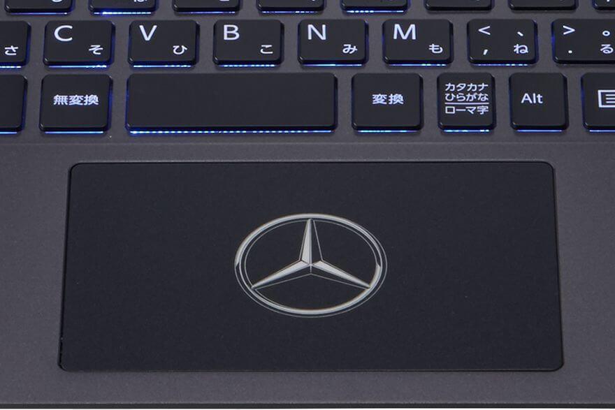 Vaio Z Mercedes-Benz keyboard