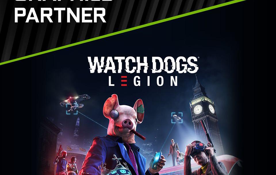 GeForce RTX هي المنصة الرسمية لإصدار يوبي سوفت القادم Watch Dogs