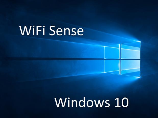 Windows 10- Wifi Sense