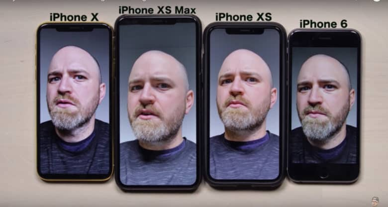 "XS and XS Max automatically ""beautified"