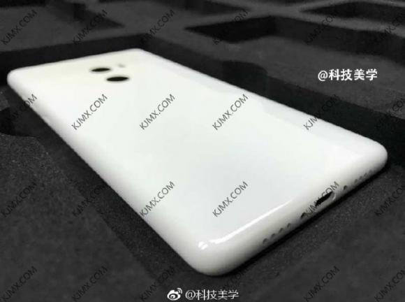 Xiaomi Mi Mix 2 back panel leaks