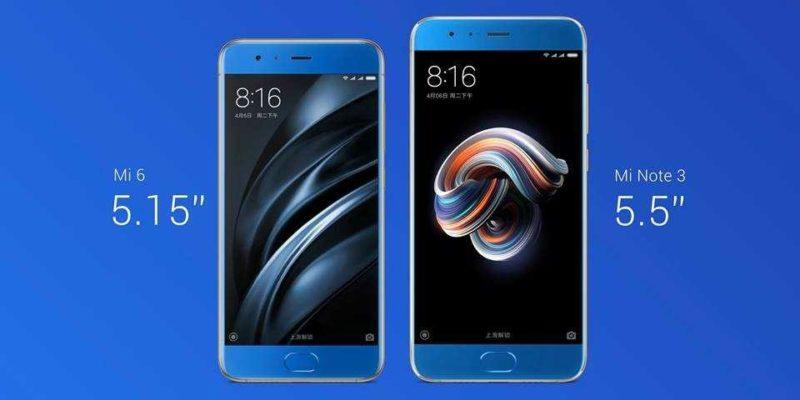 Xiaomi-Mi-Note-3-vs Mi 6