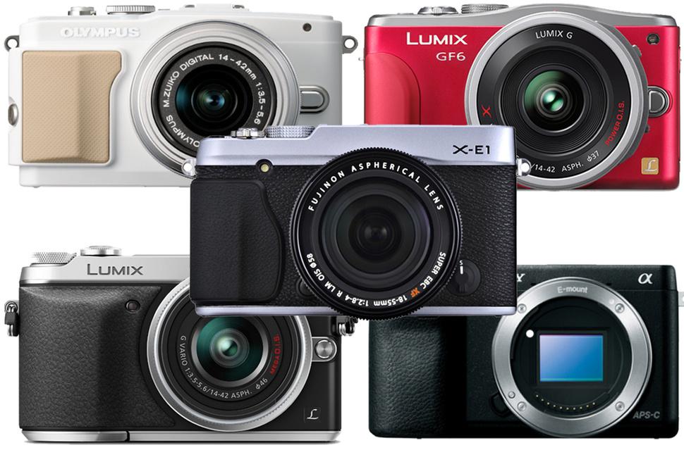 مجموعة من أفضل الكاميرات بدون مرآة داخلية لهذا العام