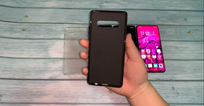 alleged Samsung Galaxy S10+ case