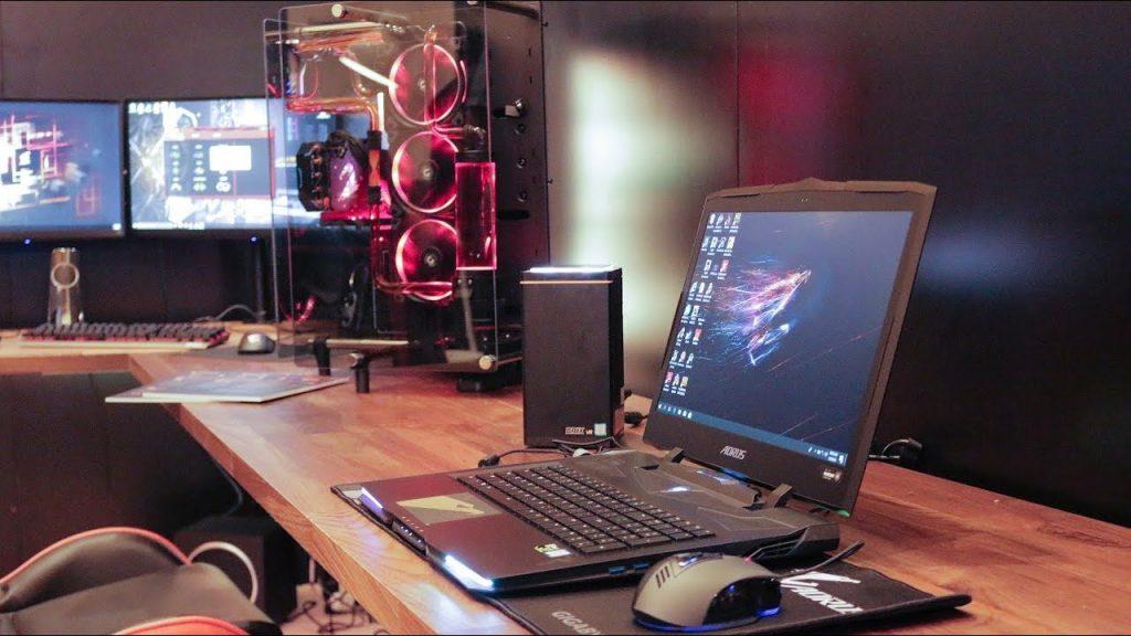 حاسب الألعاب المحمول AORUS X9 DT: تصميم رهيب!