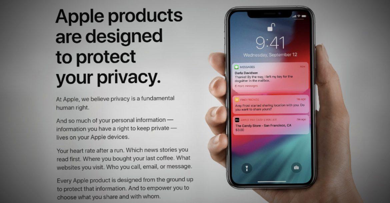 أبل تعمل على إصلاح صفحات الخصوصية الخاصة بها وتسمح لعملاء الولايات المتحدة بتنزيل بياناتهم الخاصة