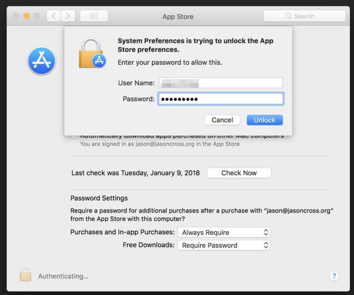 appstore_password