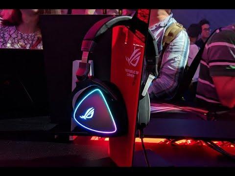 نظرة على سماعة الألعاب ASUS ROG Delta:بماذا تتميز به؟