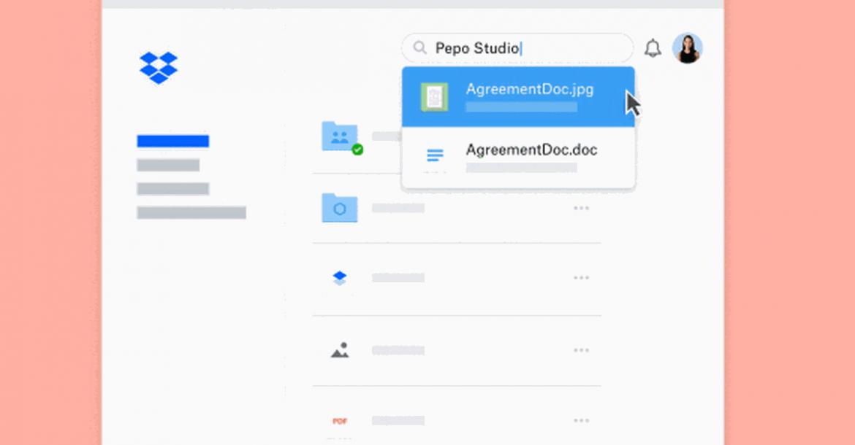 خدمة Dropbox توفر إمكانية كشف واستخراج النص من الصور