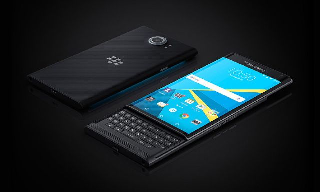 blackberry priv -display