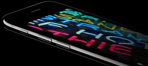 bright iphone display