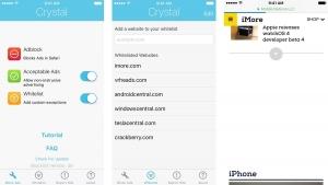 crystal iphone