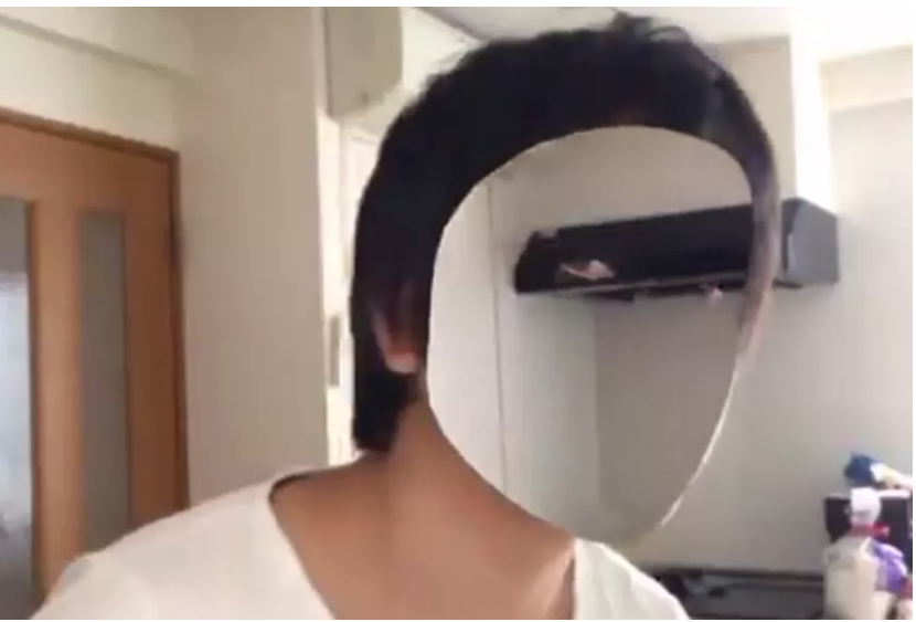 developer made his face invisible with the help of an iPhone X